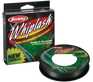 Шнур Berkley Whiplash Pro Green 110м, 0,24мм, 37.80кг