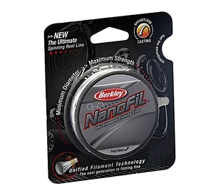 Шнур Berkley NanoFil Clear 50m 0.04mm