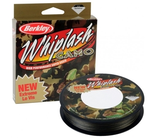 Шнур Berkley Whiplash Camo 110м, 0,24мм, 37.80кг